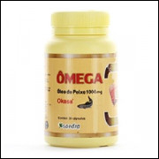Ômega 3 1000 mg okasa saedra com 30 capsulas